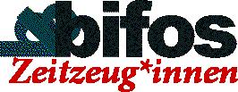Logo des Bifos Zeitzeugen-Projektes